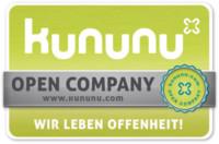Von KUNUNU als Open-Company ausgezeichnet